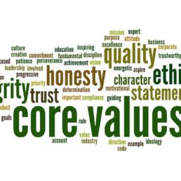 Business Values & Trust